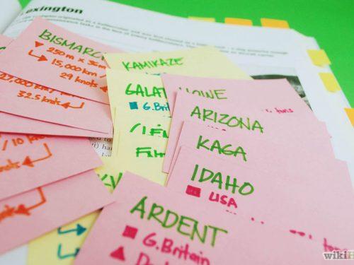 Come Memorizzare Efficacemente le Flashcards