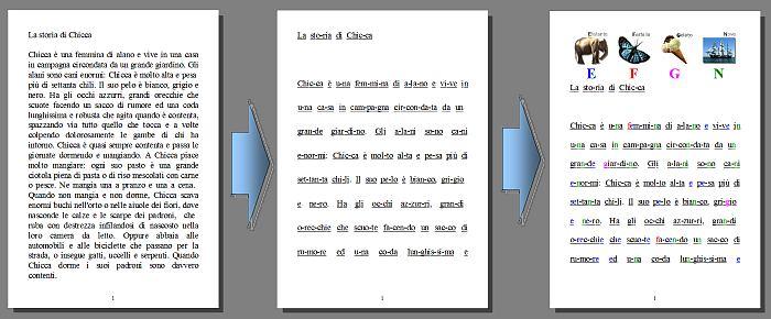 Italiano programma per l 39 apprendimento e l 39 esercizio della lettura applicazioni dsa - Esercizi di letto scrittura ...