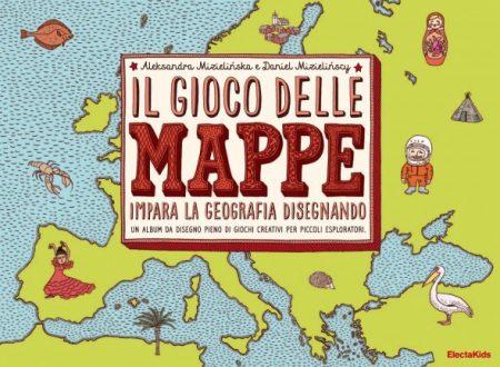 Geografia: Gioco delle mappe per imparare la geografia disegnando