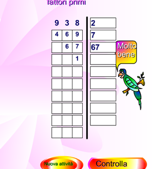 Matematica: Scomporre in fattori primi