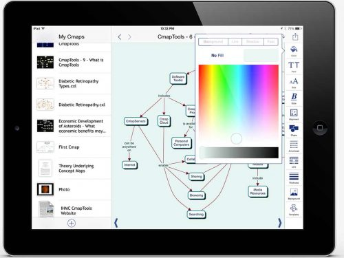 Mappe concettuali CmapTools (iPad)