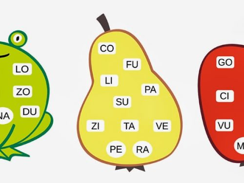 Italiano: Ortografia (La tombola delle sillabe)