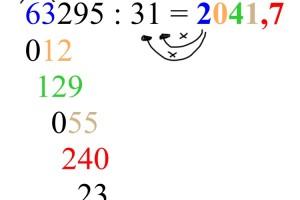 Matematica: Divisioni a due cifre