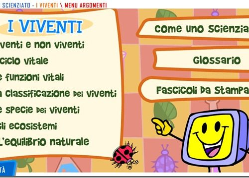 Scienze: Esseri viventi