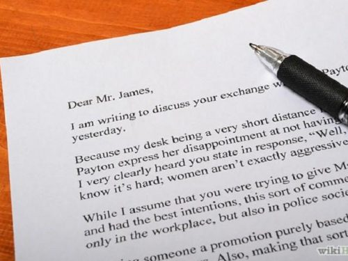 Inglese: Come scrivere una lettera