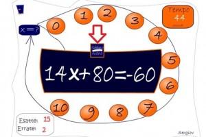 Matematica: Equazioni (Gioco)