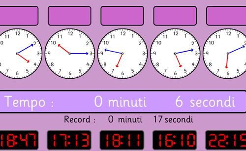 Gioco: Orologio analogico e digitale