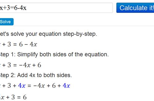 Matematica:Come risolvere un'equazione, con tutti i passaggi.