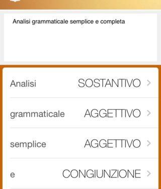 Analisi grammaticale: App da scaricare per iphone ipad