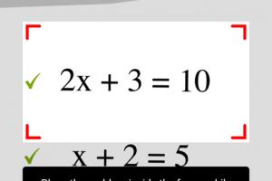 Matematica:Fotografa e risolvi le equazioni, gratis per Smartphone – Tablet – Ipad