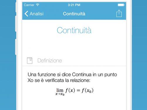 Matematica: App 120 argomenti e 1000 formule (Ipad – Iphone)