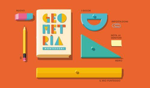 Geometria: Montessori – Scoprire le forme (ipad – iphone)