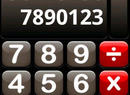 Matematica: Calcolatrice parlante per Android